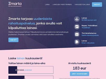 Zmarta on uudenlainen ketterä välityspalvelu.
