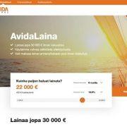 Avida Finans laina on kova uusi kilpailija Suomen lainamarkkinoilla
