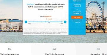 Limiitti.fi:n tarjoama luottotili on helppo tapa tuoda pientä luksusta arkeen. Ensilainana saat 300 euroa täysin korottomana käyttöösi.