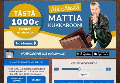 Suomilimiitti on yksi nopeimpia ja joustavimpia pikavippejä mitä tarjonnasta löytyy.